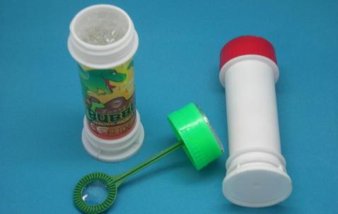 Bouteille bulle de savon avec étiquette personnalisée image