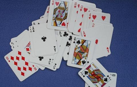 Mini cartes à jouer personnalisables (38 x 51 mm) image