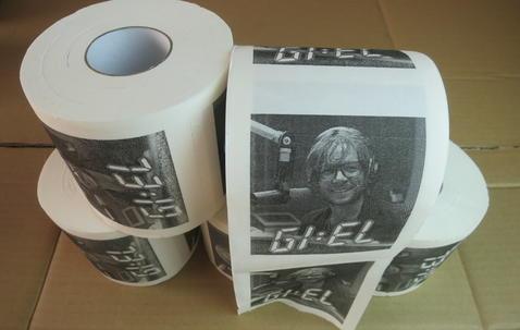 Papier toilette avec impression personnalisée image