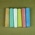 Grandes craies couleur avec boîte personnalisée image
