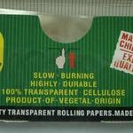 Papier à rouler transparent extra-long avec paquet personnalisé (110x36mm) image