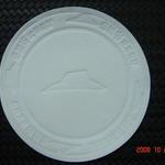 Dessous de verre avec dégaufrage/impression personnalisée 100mm image