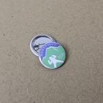 Badge bouton métal personnalisé 25mm image