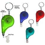 Porte-clé stylo et mètre ruban image