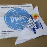 Lingette microfibre nettoyante 14x14cm personnalisable image