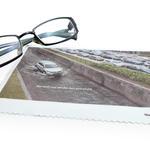 Lingette microfibre nettoyante 18x18cm personnalisable image
