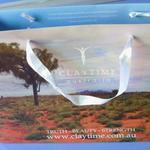 Sac en papier cartonné 25x35hx10cm avec impression personnalisée image